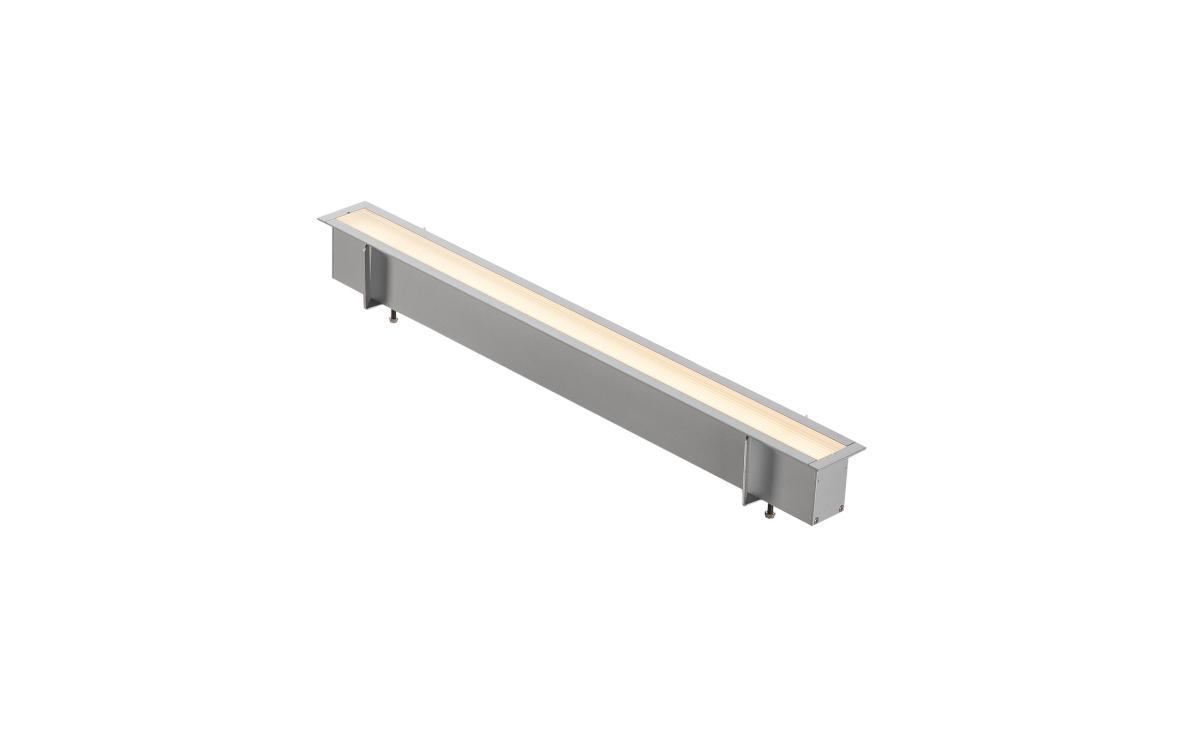 ANINDA LED SHORT zilvergrijs 1xLED 3000K