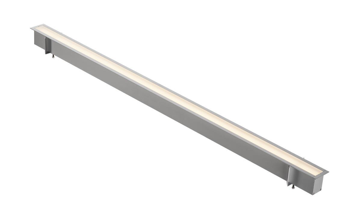 ANINDA LED LONG zilvergrijs 1xLED 3000K