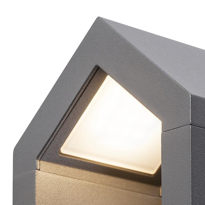 RASCALI wandlamp antraciet 1xLED 3000K