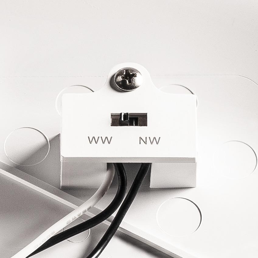 RUBA 10 wandlamp wit 1xLED 3000/4000K