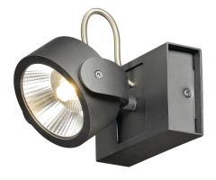KALU LED 1 zwart 1xLED 3000K 60° img