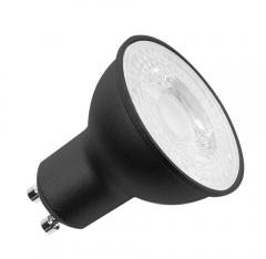 LED lichtbron GU10 zwart 1xLED 2700K img